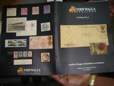 INDIA - TODYWALLA AUCTIONS CATALOGUE NO. 6  WITH PRICE - 27TH SEPT 2014