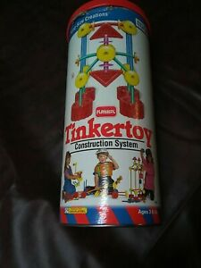 King Size Creations Tinkertoy Playskool Complete