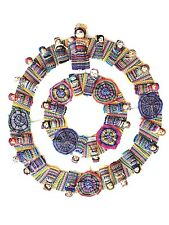 Worry Dolls Guatemala Double Wreath Handcrafted Big Momma and Babies