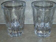 NEW 2pk Finlandia Vodka Embossed Logo Shot glasses