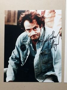 """CHRISTOPHER LLOYD signed 10""""x8"""" PHOTO with UACC RD C.O.A. TAXI"""