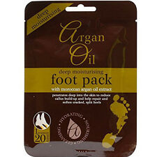 Argan Oil Deep Moisturising Foot Pack with Moroccan Argan Oil Extract