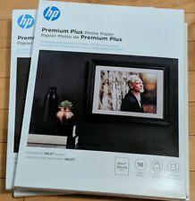(2 Packs) HP Premium Plus Photo Paper:Soft Gloss: 8 1/2 x 11 50 sheets per pack