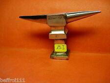 Petite enclume bigorne d'horloger bijoutier outil ancien Uhrmacher N 19 3