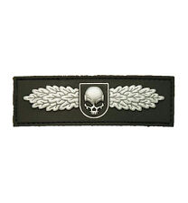 PATCH JTG 3D GOMME SWAT SKULL ANGEL NOIR PAINTBALL AIRSOFT MILITAIRE INSIGNE