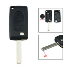 Car 2Button Remote Key For Citroen C3 C4 C5 C6 VA2 Blade Battery Stand CE0536 MG