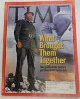 Time Magazine Saddam Hussein The Pope January 1998 041615R