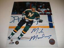 Mike Modano  signed autograph 8x10 photo  Frozen Pond COA