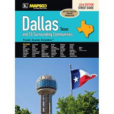 Dallas TX Mapsco Street Atlas