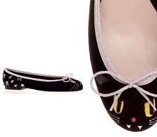 EUC TOKIDOKI x London Sole Evil Kitty Cat Flats Size Women's EUR 37.5 US 6, 6.5