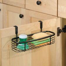 Home Bathroom Kitchen Storage Tray Organizer Cabinet Drawer Sponge Brush Bronze