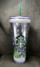 Starbucks 2011 Holiday Create Your Own Cup Cold Insulated Tumbler, 24 oz Snowman