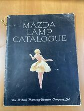 More details for mazda lamp catalogue 1950 - vintage bulbs fairy lights etc - l110