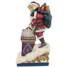 CHRISTMAS BY JIM SHORE - Victorian Santa By Chimney - 4058752