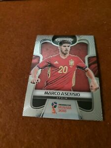 Marco Asensio - 2018 Panini Prizm World Cup Soccer #205 base Spain/Real Madrid