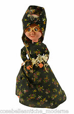 Antica Bambola d'epoca Giocattolo Vintage Antique Doll in Tipical Dress 900's