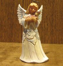 """Jim Shore Heartwood Creek Pint Size #4060962 WHITE WOODLAND ANGEL """"FAITHFUL...5"""""""
