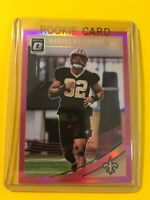🔥🔥2018 DONRUSS OPTIC MARCUS DAVENPORT ROOKIE #106 PINK PRIZM Saints