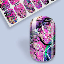Nail Art Transfers Self Adhesive Decal Foil Sticker DIY Tip Wrap Manicure Party