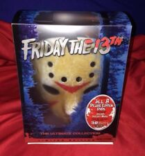 RARE Friday The 13th LIMITED Deluxe Edition 8 DVD Movies + Jason MASK 3D Glasses