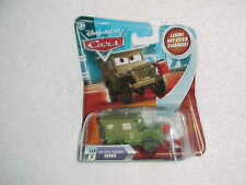 "Mattel Hw Disney Pixar Cars ""Pit Crew Sarge"" Look My Eyes Change - Rare - Vhtf"