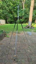 """Vintage 61"""" Hollywood Tripod by Pagliuso Eng Co.- For Parts"""