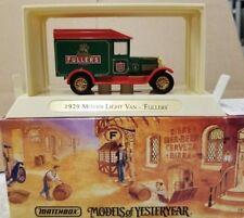 Matchbox Models of Yesteryear 1929 Morris Light Van 'Fullers' YGB04 (11B)