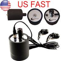 USA Ear Listen Through Wall Device Bug Eavesdropping Wall Microphone Voice Spy