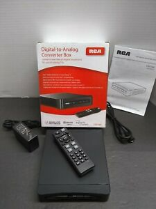 RCA Digital to Analog Converter Box TV STB7766C Complete with Box & Remote