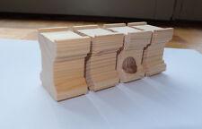 handgefertigte Brückenpfeiler für Holzeisenbahn, wie BRIO, 8er-Set