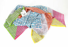 Geometric 100% Silk Scarves and Wraps for Women