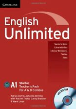 English Unlimited Starter A and B Teacher's Pack (Teacher's Book with DVD-ROM),