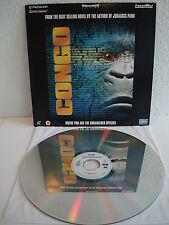 Congo    Laserdisc PAL Englisch   LD: Fast wie Neu   Cover: Fast wie Neu