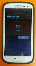 ⭐️⭐️⭐️⭐️⭐️ Samsung Galaxy S3 TracFone SCH-S968C(GP) White Unknown Storage