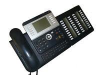 Alcatel Lucent Octopus Open Octophon 151 Systemtelefon mit Beistellmodul     *67