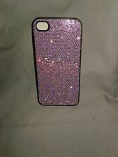 iphone 4s cell phone case - Purple Sparkle - Shimmers with every move