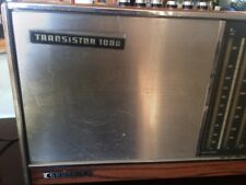 1960s Vintage GRUNDIG TRANSISTOR 1000 Shortwave AM FM RADIO  SwI SwII Tested
