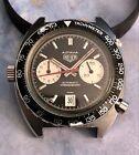 Heuer Autavia Automatic Steel Chronograph Vintage Watch