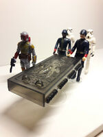 Horizontal Han Carbonite Display Stand (stand only) - Star Wars Kenner POTF