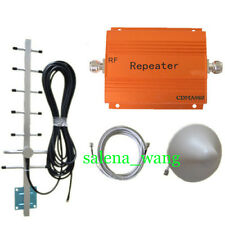 CDMA/GSM 850Mhz 2G 3G Signal Repeater Cell Phone Booster Amplifier+ Yagi 1Set
