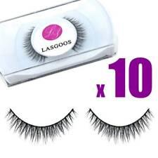 Lasgoos Big Sales 10 Pairs Mink Hair Short False Eyelashes Soft Eye Lashes #020
