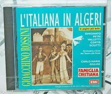 VERDI ROSSINI L'ITALIANA IN ALGERI FAMIGLIA CRISTIANA MUSIC CD ITALIAN VERSION