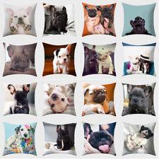 18*18'' Pillow Case Dog Animal Printed Throw Cushion Cover Sofa Bed Home Decor