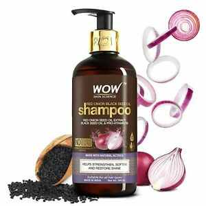 WOW Skin Science Onion Shampoo With Red onion Seed Oil 300ml