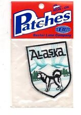 Alaska Alaskan Malamute Travel Souvenir Patch - Brand New - Free Shipping!