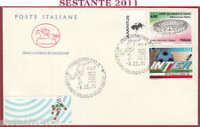 ITALIA FDC CAVALLINO CAMPIONATO ITALIANO DI CALCIO SERIE A 1991 TORINO U682