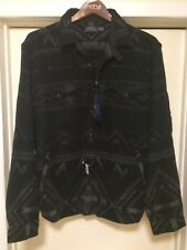 NWT XXL POLO RALPH LAUREN SOUTHWESTERN AZTEC JACKET LONG SLEEVE BUTTON UP SHIRT