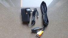 SUPER NINTENDO - SNES / NES Power Supply - 9V AC AU + AV CABLE/LEAD - BRAND NEW!