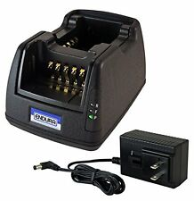 Power Products Dual Unit Rapid Charger for Harris P7300, XG15, XG25, XG75 Radios