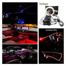 8M Fiber Optical Strip Car Interior Decor Neon Atmosphere Light BT App Control
